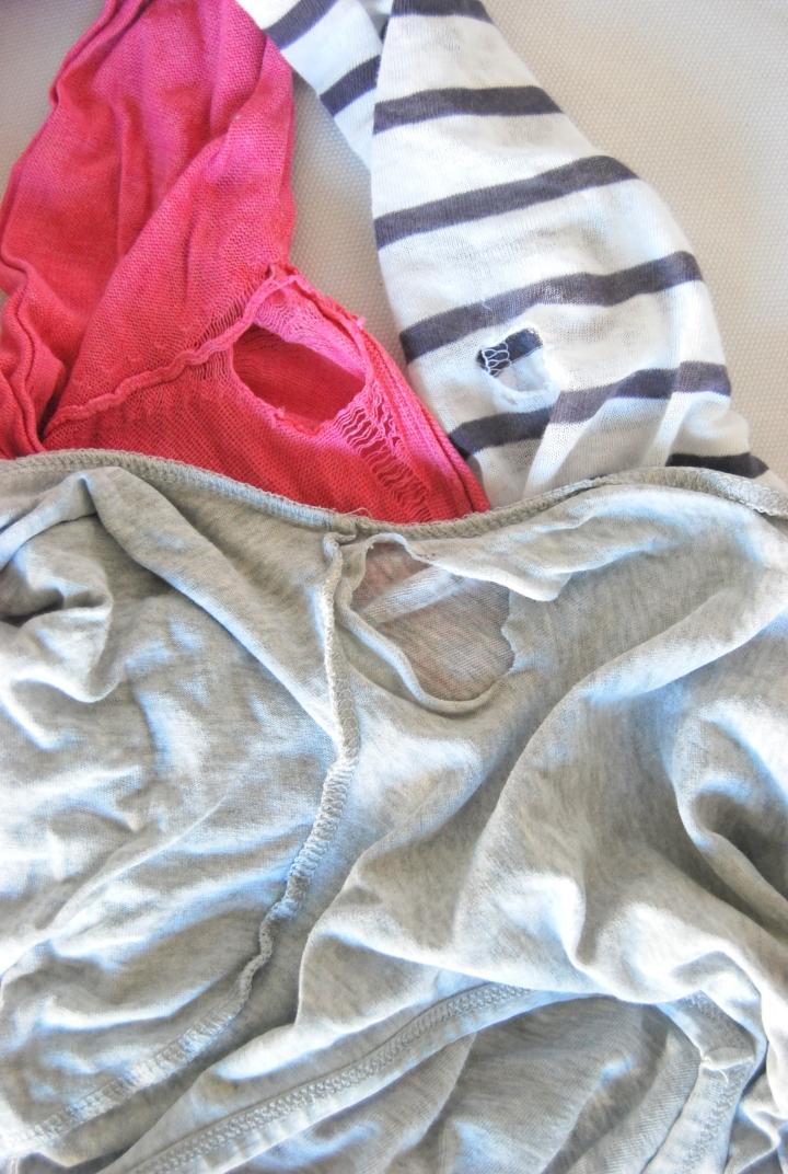 Holete genserar etter eit års ivrig bruk.