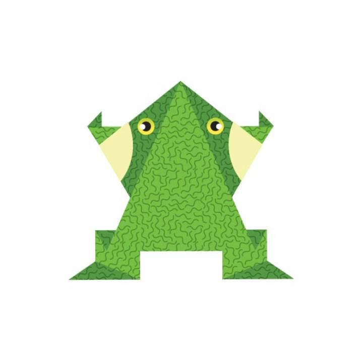 damfrosk-origamiill-enkelt-bilde